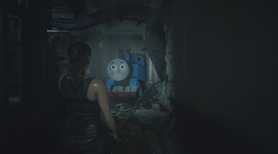 Why are people modding Thomas the Tank Engine into video… - The Face