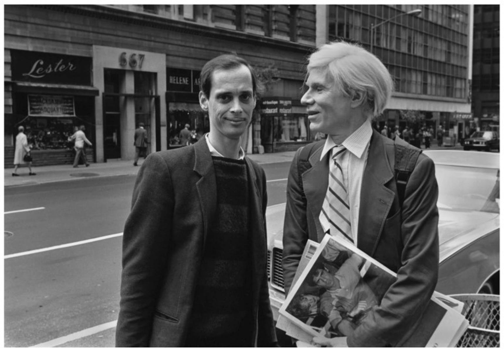 Andy Warhol John Waters Robert J. Levin