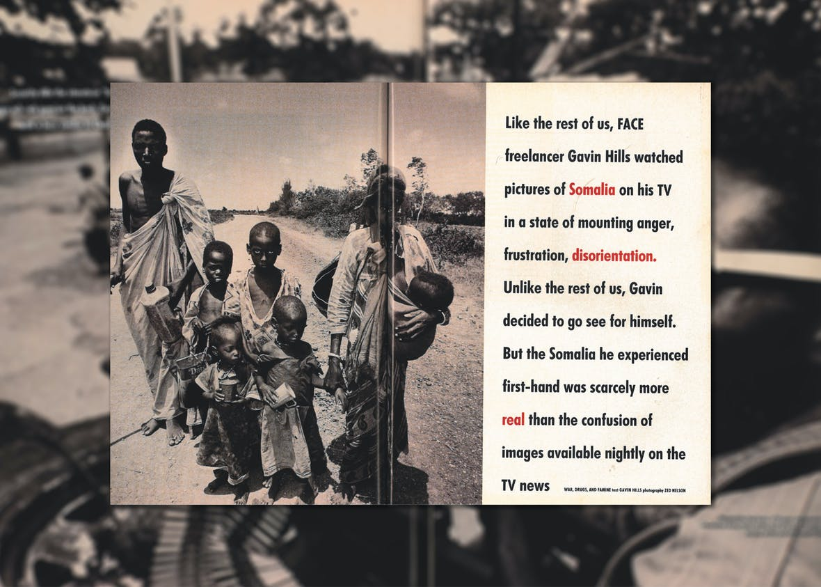 War, Famine and Drugs: Behind the Lines in Somalia - The Face