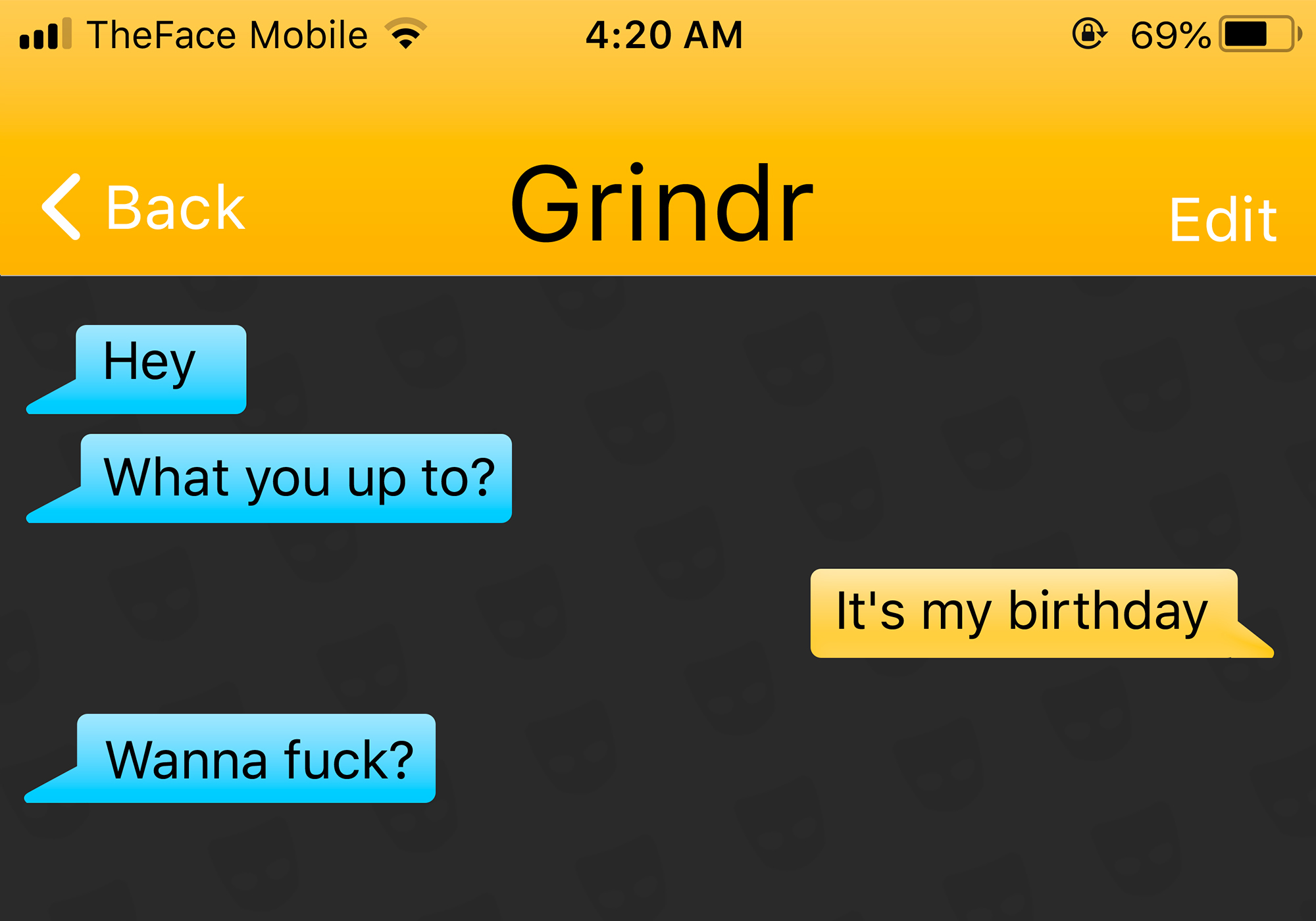 Gay hookup Grindr