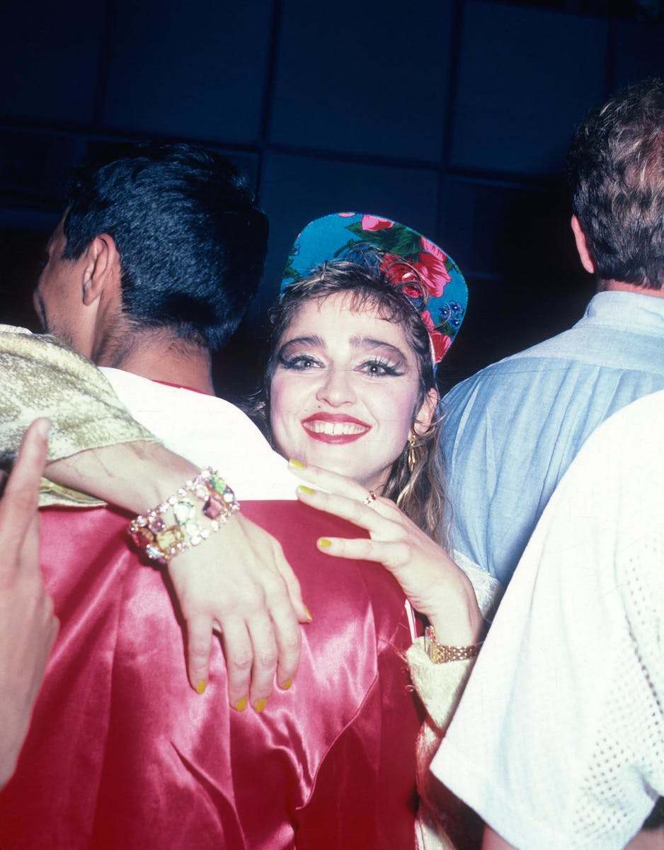 Madonna's Post Concert Party at the Westbury Hotel in NYC, June 6, 1985.